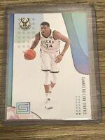 Giannis Antetokoumpo 2019-20 Panini Status Milwaukee Bucks card #24