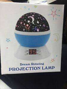 Dream Rotating Projection Lamp Star with Timer for Boys and Girls