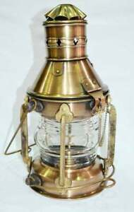 Ship Lantern Boat Light Anchor Lamp Cargo Ship Kerosene Oil Lantern