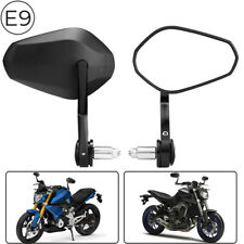"""Universal 7/8"""" Handle Bar End Mirrors Motorcycle Sportbike For BMW KTM Ducati"""