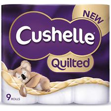 Cushelle 9 Rolls Quilted Toilet Roll Tissue Paper Multiple Koala Packs 2 Ply