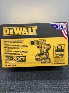 Dewalt DCK287D1M1 Drill/Driver Kit