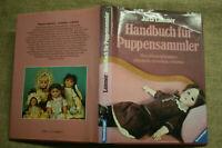 Sammlerbuch alte Porzellankopf Puppen ab 1880, Puppensammler, Hersteller, 1988