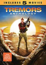 Tremors Anthology (DVD, 2016, 3-Disc Set, Canadian)