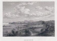 DRONTHEIM-Norwegen-St.St. bei BIH um 1840-11,0x16,3 cm