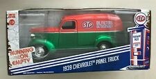 GREENLIGHT 1939 CHEVROLET PANEL TRUCK STP GREEN MACHINE CHASE 1/24