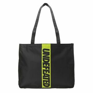 Starbucks UNDEFEATED Collaboration logo design tote bag Neon Yellow Large size