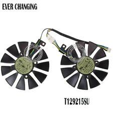 87MM Cooler Fan For ASUS GTX1060 1070 Ti RX 470 570 580 T129215SU PLD09210S12HH