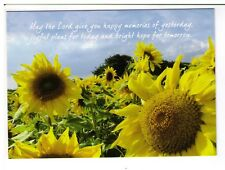 Postcard: The Leprosy Mission - Sunflowers