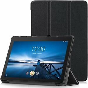 For Lenovo TAB E10 Case Premium Smart Book Stand Cover (TB-X104F)