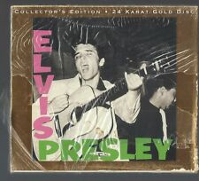 Elvis Presley Collector's Edition 24 Karat Gold Disc - SEALED NEW CD