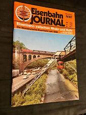 Sonderheft IV/87 Eisenbahn Journal = Eisenbahn zwischen Rhein und Ruhr