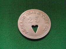WV Coal Scrip 25¢ Ashland Coal & Coke Company-Ashland-WV-McDowell County
