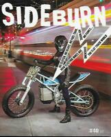 SIDEBURN-Flat Track Magazine No.40 (NEW)*Post included to UK/Europe/USA