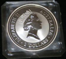 Australia 2 dollars 1994 Kookaburra Elizabeth II 2 oz. 999 plata
