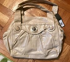 Marc By Marc Jacobs Totally Turnlock Cream Shoulder Handbag NWT