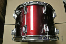 """ADD this 1980's TAMA IMPERIALSTAR RED 14"""" TOM to YOUR DRUM SET TODAY! #K16"""