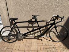 Cannondale Aluminum Road Tandem Bike Black Metallic Antique Made In USA