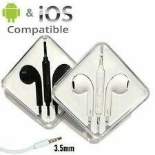 3.5mm In-Ear Headphones Earphones Earbuds w/MIC and Volume for Samsung & iPhone