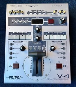 Edirol V4 - 4 Channel Video Mixer