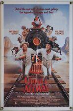 UPHILL ALL THE WAY FF ORIG 1SH MOVIE POSTER ROY CLARK MEL TILLIS COMEDY (1985)