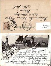 556151,tolle Lithographie Gruß aus Hall in Tirol Vorläufer 1896 pub Max Jeggles