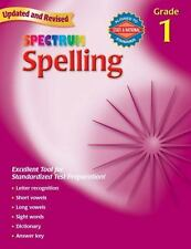 Spectrum: Spelling, Grade 1 by Spectrum Staff and Carson-Dellosa Publishing Staf