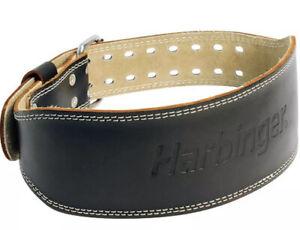 "Harbinger 4"" Black Lifting Belt Small"