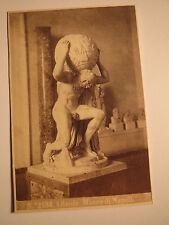 Atlante Farnese - Atlas - Museo di Napoli - Neapel - Naples / CDV
