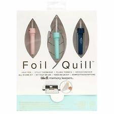 We R Memory Keepers HEAT PEN 12 PC FOIL QUILL #660579 Starter Kit NEW!