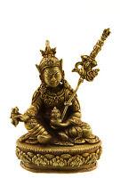 Soprammobile Tibetano Guru Rinpoche- Libro Padmasambhava 9 CM Rame Nepal 25649