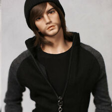 1/4 bjd doll cool man boy body male resin dolls free eyes with face up 50cm tall