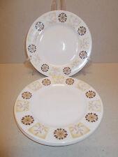 4 x Vintage Royal Vale Bone China 16.2cm Side Plates Floral Leaf Design Lovely