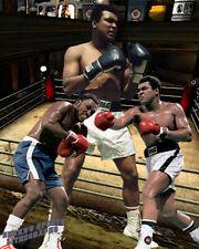 Lithograph print of Muhammad Ali