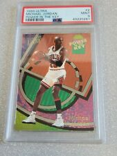 Michael Jordan 1993 Ultra Power In The Key PSA 9 Mint