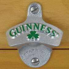 Starr X Guinness Bier Kleeblatt Flaschenöffner Wandmontage USA Bottle Opener