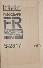 Riso s-2817 Risograph FR Master 96w 2 erpack para FR 3910 3950 RP 210l 215 OVP a
