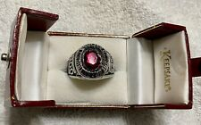Mens ABC 800 Series Bowling Ring, Size 14, Siladium KEEPSAKE Authentic -Not Gold
