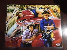 "The Dukes of Hazzard, ""Autographed"" (PSA/DNA) 11x14 Photo w/ Inscriptions!!"