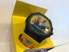 The Simpsons Official Talking Watch Burger King 2002 Homer VTG W/Box