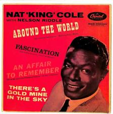 """Nat King Cole & Nelson Riddle - Around The World - 7"""" Record Single"""