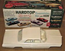 AMT ANNUAL 1962 PONTIAC BONNEVILLE VINTAGE USED 3in1 MODEL CAR KIT w/ORIG'L BOX