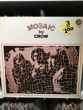 Crow - Mosaic By Crow. In Shrink No Cut Corners. Original Pressing Near Mint