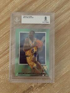 🔥Kobe Bryant E-x2000 Rookie Card RC Skybox 1996-97 BGS 8 Ex2000