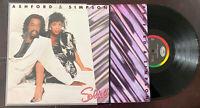 ASHFORD & SIMPSON SOLID Vinyl LP (Capitol Records ST-12366) 1984 R&B, VG+/EX OG