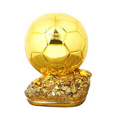 Resin Golden Ball 20cm height  Player the Year Ballon d'Or Football GIft