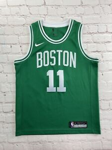 Authentic NBA Boston Celtics Kyrie Irving #11 Nike Green Youth L Stitched Jersey