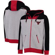 Chicago Bulls Men's Hardwood Full-Zip Hoodie Size S UNK Red Black Gray