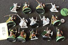 Games workshop señor de los anillos Guerreros de Rohan Trabajo Lote LOTR Pintado GW