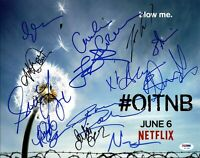 Orange Is The New Black Cast (13) Signed Authentic 11X14 Photo PSA/DNA #Y07991